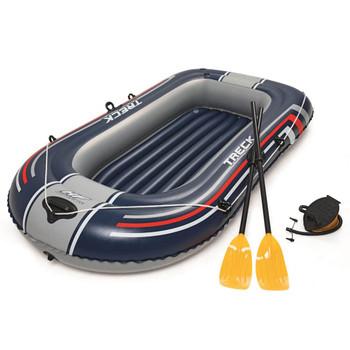 Bestway Hydro-Force čamac na napuhavanje s crpkom i veslima plavi 61083