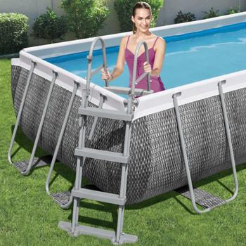 Bestway Flowclear ljestve za bazen s 4 stepenice 107 cm