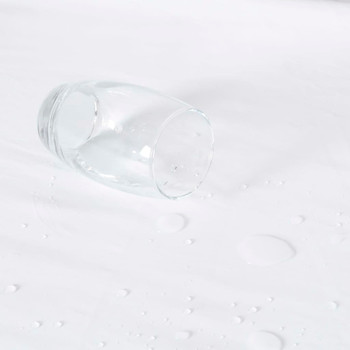 vidaXL Vodootporne presvlake za madrac 2 kom pamučne 80x200 cm bijele