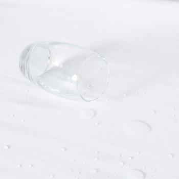 vidaXL Vodootporne presvlake za madrac 2 kom pamučne 120x200 cm bijele