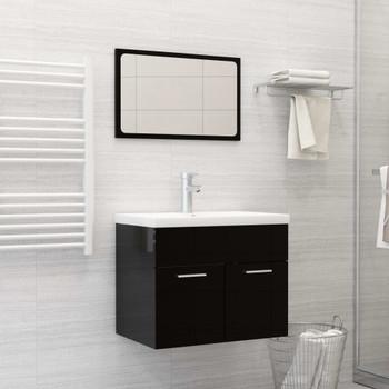 vidaXL Ugradbeni umivaonik sa slavinom 61x39x18 cm keramički bijeli