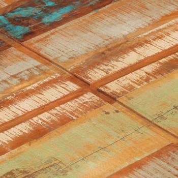 vidaXL Stolić za kavu 80 x 80 x 28 cm od masivnog obnovljenog drva