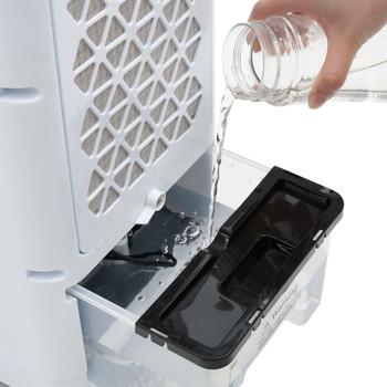 vidaXL 3-u-1 mobilni klima-uređaj bijelo-crni 60 W