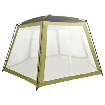 vidaXL Šator za bazen od tkanine 590 x 520 x 250 cm zeleni