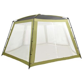 vidaXL Šator za bazen od tkanine 660 x 580 x 250 cm zeleni