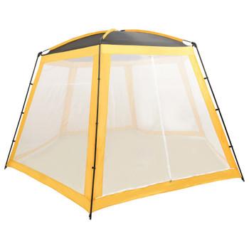 vidaXL Šator za bazen od tkanine 500 x 433 x 250 cm žuti