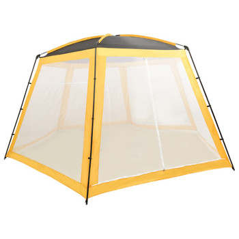 vidaXL Šator za bazen od tkanine 590 x 520 x 250 cm žuti
