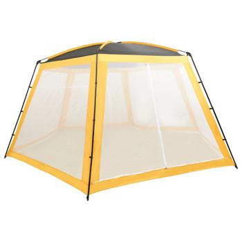 vidaXL Šator za bazen od tkanine 660 x 580 x 250 cm žuti