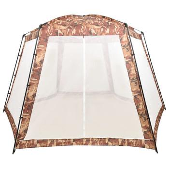 vidaXL Šator za bazen od tkanine 500 x 433 x 250 cm maskirne boje