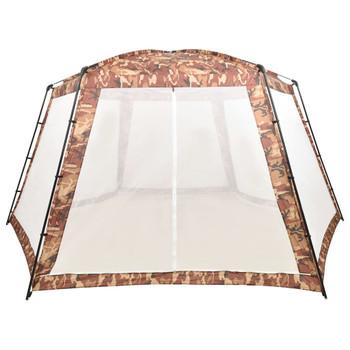 vidaXL Šator za bazen od tkanine 660 x 580 x 250 cm maskirne boje