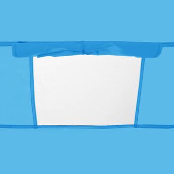 vidaXL Prigodni šator za tuširanje plavi