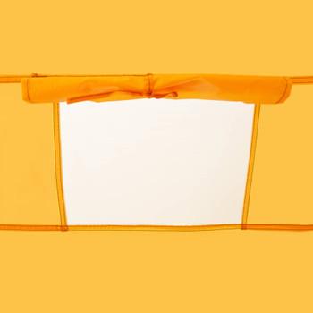 vidaXL Prigodni šator za tuširanje žuti