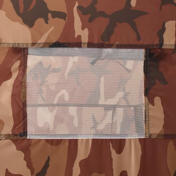 vidaXL Prigodni šator za tuširanje maskirne boje
