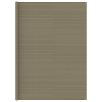 vidaXL Tepih za šator 300 x 600 cm smeđe-sivi