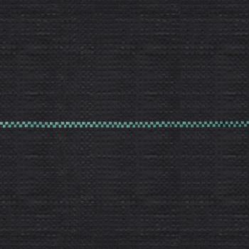 vidaXL Pokrov za suzbijanje korova i korijenja crni 2 x 25 m PP