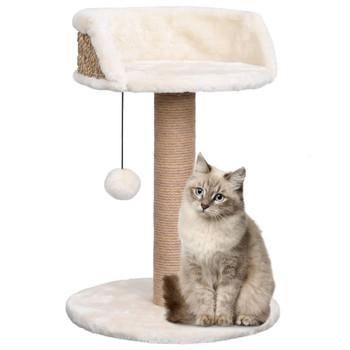 vidaXL Penjalica za mačke sa stupom za grebanje 49 cm od morske trave