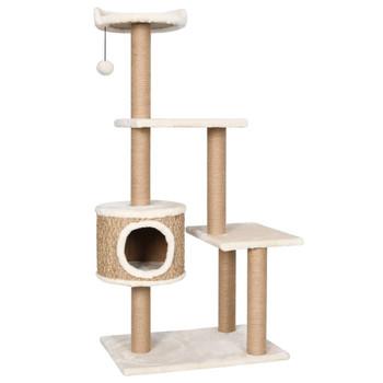 vidaXL Penjalica za mačke sa stupovima za grebanje 123 cm morska trava