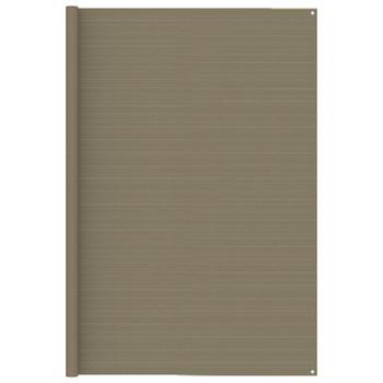 vidaXL Tepih za šator 250 x 400 cm smeđe-sivi