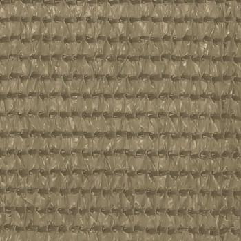 vidaXL Tepih za šator 300 x 400 cm smeđe-sivi