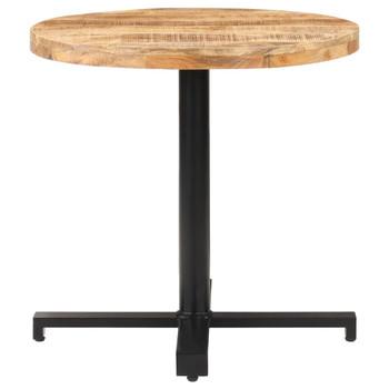 vidaXL Bistro stolić okrugli Ø 80 x 75 cm od grubog drva manga