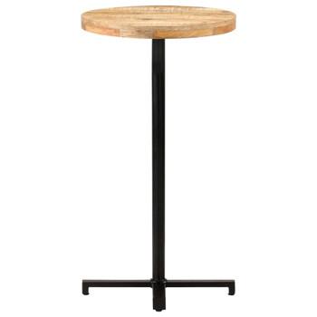 vidaXL Barski stol okrugli Ø 60 x 110 cm od grubog drva manga