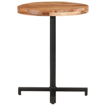 vidaXL Bistro stol okrugli Ø 60 x 75 cm od masivnog bagremovog drva