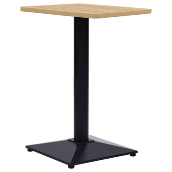 vidaXL Noga za bistro stol crna 41 x 41 x 72 cm od lijevanog željeza