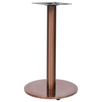 vidaXL Noga za bistro stol zlatna Ø 45 x 72 cm od nehrđajućeg čelika