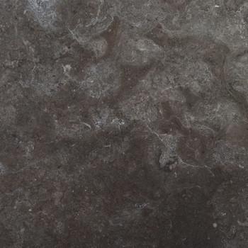 vidaXL Stolna ploča crna Ø 40 x 2,5 cm mramorna