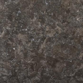 vidaXL Stolna ploča crna Ø 60 x 2,5 cm mramorna