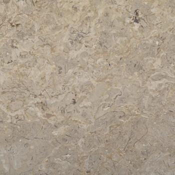 vidaXL Stolna ploča siva Ø 60 x 2,5 cm mramorna