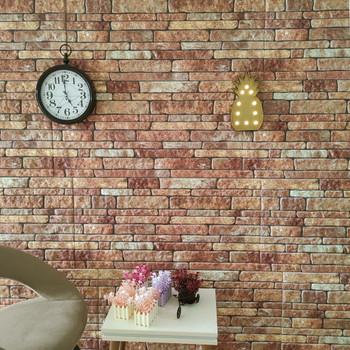 vidaXL 3D zidni paneli s uzorkom smeđih cigli 10 kom EPS