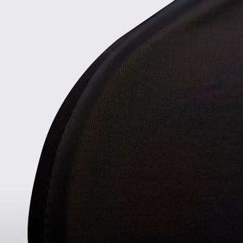 vidaXL Rastezljive navlake za stolice 100 kom crne