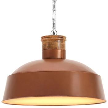 vidaXL Industrijska viseća svjetiljka 58 cm bakrena E27