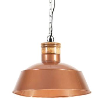 vidaXL Industrijska viseća svjetiljka 42 cm bakrena E27