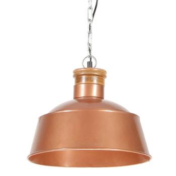 vidaXL Industrijska viseća svjetiljka 32 cm bakrena E27