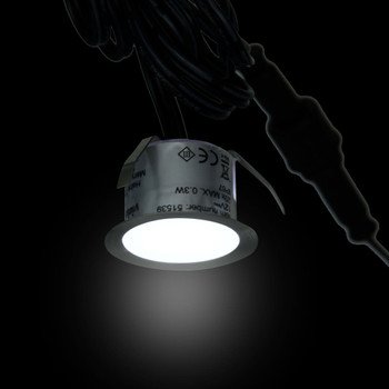 vidaXL LED podne svjetiljke 10 kom hladne bijele