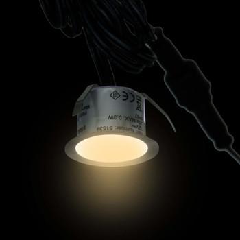 vidaXL LED podne svjetiljke 20 kom tople bijele