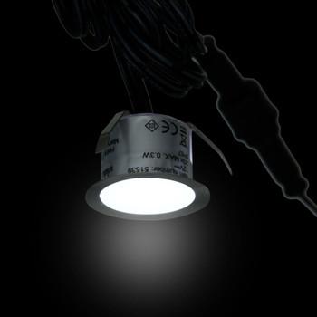 vidaXL LED podne svjetiljke 20 kom hladne bijele