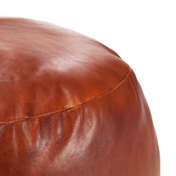 vidaXL Tabure od prave kozje kože 60 x 30 cm