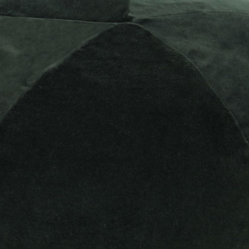 vidaXL Tabure od pamučnog baršuna 50 x 35 cm zeleni