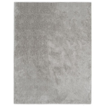 vidaXL Čupavi ukrasni tepih 80 x 150 cm sivi