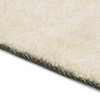 vidaXL Čupavi ukrasni tepih 160 x 230 cm krem