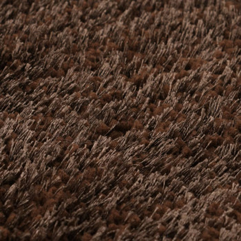 vidaXL Čupavi ukrasni tepih 120 x 160 cm smeđi
