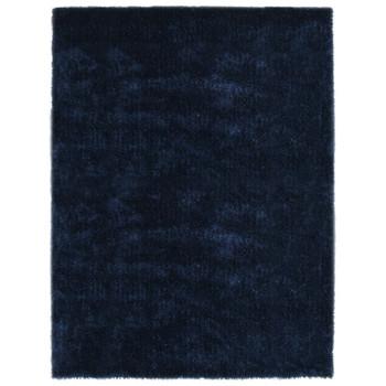 vidaXL Čupavi ukrasni tepih 80 x 150 cm plavi
