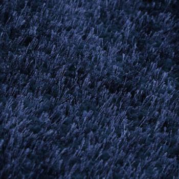 vidaXL Čupavi ukrasni tepih 140 x 200 cm plavi