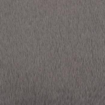 vidaXL Tepih od umjetnog zečjeg krzna 160 cm tamnosivi