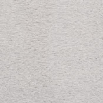 vidaXL Tepih od umjetnog zečjeg krzna 80 x 150 cm sivi