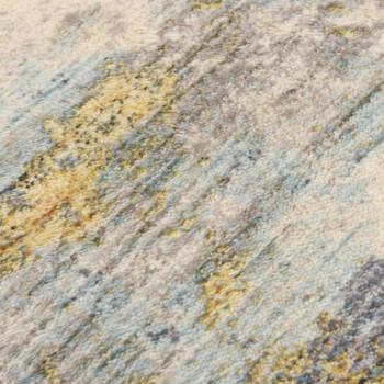 vidaXL Tepih s uzorkom raznobojni 80 x 150 cm poliesterski