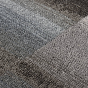 vidaXL Dugi tepih s gelastom podlogom crni 67 x 200 cm